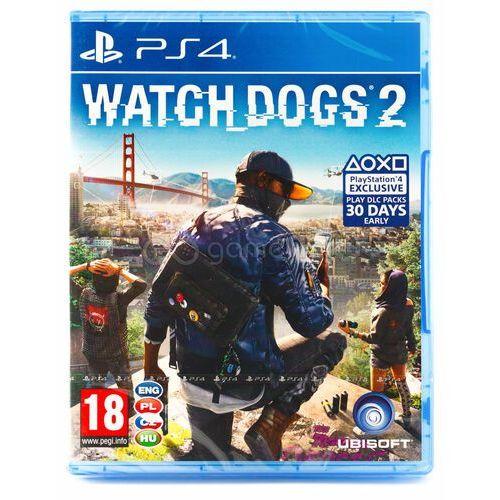Watch dogs 2 pl ps4 marki Ubisoft