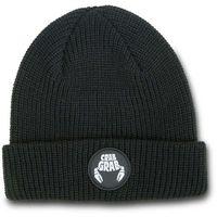 czapka zimowa CRAB GRAB - Circle Patch Beanie Black (BLK) rozmiar: OS