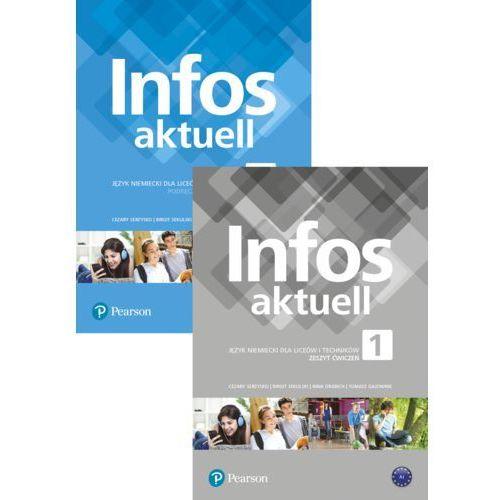 Infos Aktuell 1. Język niemiecki. Liceum i technikum. Podręcznik z kodem dostępu do eDesku, Pearson Longman