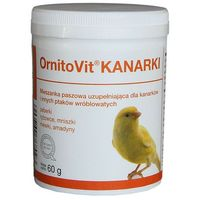 Dolfos ornitovit kanarki - preparat witaminowo - mineralny dla kanarków 60g (5906764768093)