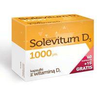 Kapsułki Solevitum D3 1000j.m. x 60 kapsułek + 15 gratis! - data ważności 31-07-2018r.