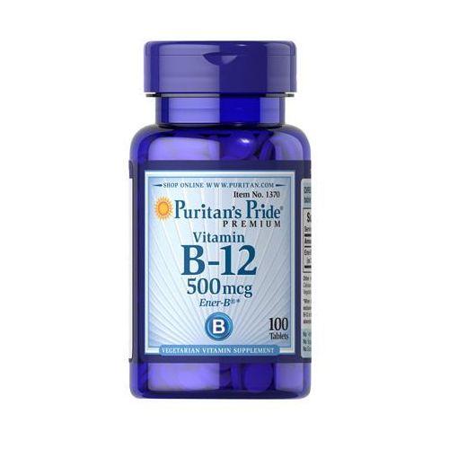 Tabletki WITAMINA B-12 500mcg 100 tabletek PURITAN'S PRIDE