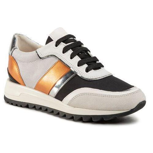 Sneakers GEOX D Ravex B D826DB 0EWAF C2UH6 PlatinumLt Taupe