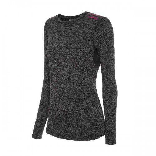 Bluzka termoaktywna damska cross top lady 46 grafitowo/różowy marki Viking
