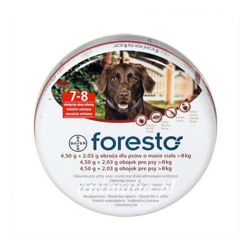 foresto obroża przeciw pchłom i kleszczom dla psów 70cm promocja marki Bayer