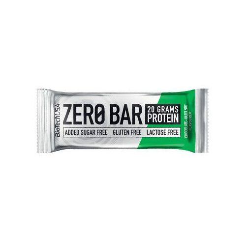 Biotech usa baton zero bar - 50g - chocolate hazelnut
