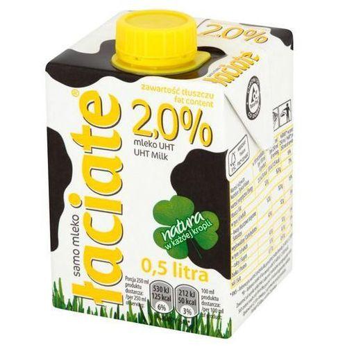 Mleko ŁACIATE 500ml. 2% op.8