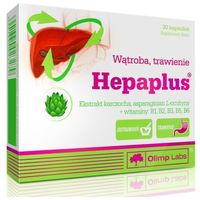 Kapsułki Olimp Hepaplus (Karczoch + L-Ornityna) 30 kaps.
