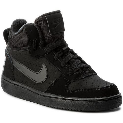 Zobacz ofertę Nike Buty - court borough mid (gs) 839977 001  black black black 4b22db1f4