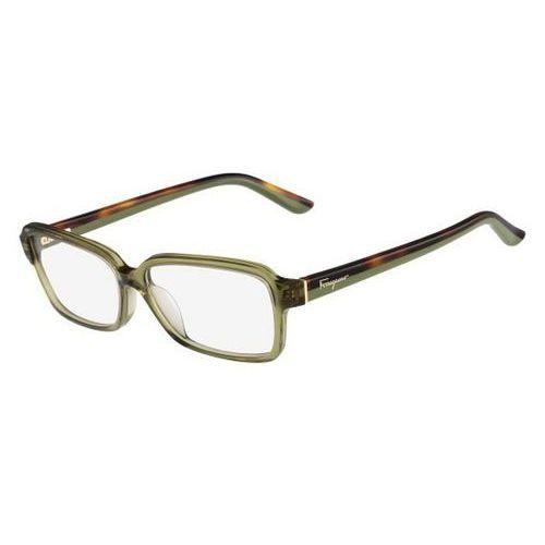 Salvatore ferragamo Okulary korekcyjne sf 2680 322
