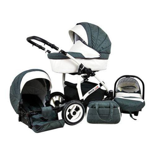 Sun baby wózek wielofunkcyjny white lux 3w1, grey (2010963010044)