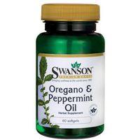 Olej oregano i olej miętowy 150mg 60kaps