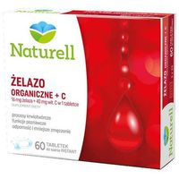 Żelazo organiczne + C x 60 tabletek do ssania