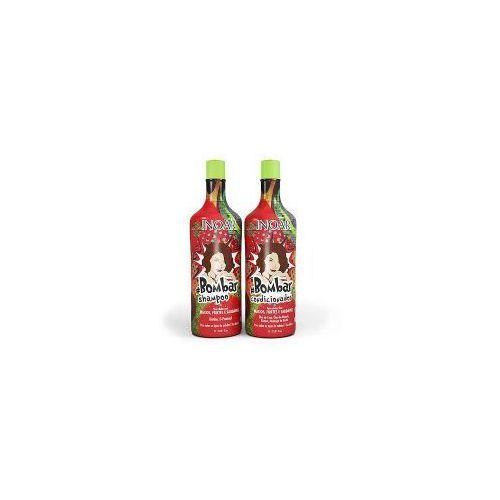 Inoar bombar duo pack, szampon + odżywka regenerujące, 2x1000ml