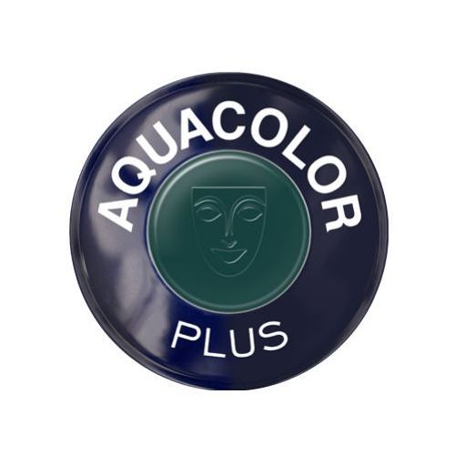 Kryolan aquacolor plus (dark green) farba do makijażu ciała - dark green (1102)