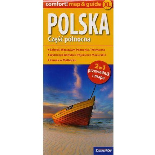 Polska Część północna 2w1 przewodnik i mapa, ExpressMap
