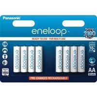 Panasonic 8 x akumulatorki  eneloop r6 aa 2000mah bk-3mcce/4be (blister)