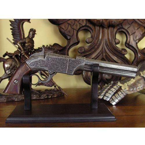 Hiszpania Oryginalny pistolet volcanic z 1852 r. (k8749w)