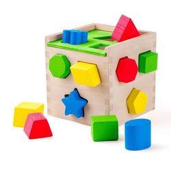 Sorter z klockami drewnianymi 12 elementów, 5_583064