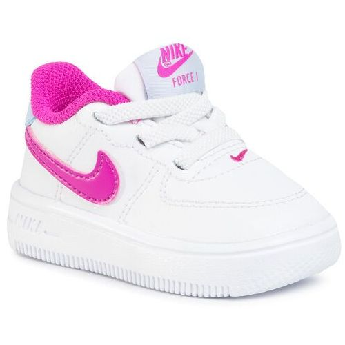Buty - force 1 '18 (td) 905220 103 white/fire pink/hydrogen blue marki Nike