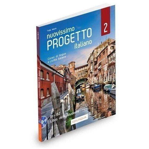 Nuovissimo progetto italiano 2 podręcznik + dvd - telis marin, Edilingua