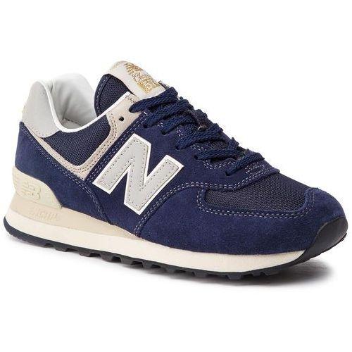 Sneakersy NEW BALANCE - ML574VLA Granatowy