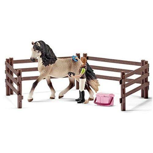 Schleich - zestaw do pielęgnacji koni andaluzyjskich