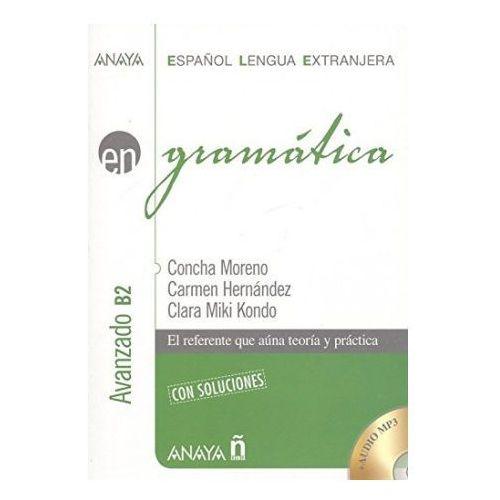 Gramatica. Avanzado B2 con soluciones + CD. Gramatyka języka hiszpańskiego z rozwiązaniami (264 str.)