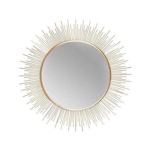 Lustro Dekoracyjne Plomo Złote śr 395 Cm Splendid