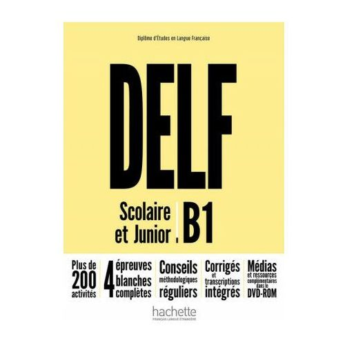 DELF B1 Scolaire & Junior NE podręcznik +DVD-Rom (160 str.)