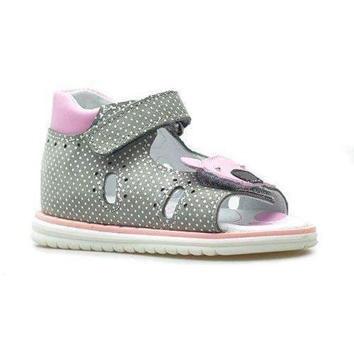 fc1592ce ▷ Skórzane sandały dziecięce RenBut 21-3271 - Zielony ||Granatowy ...