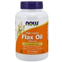 Kapsułki Flax Oil (Olej lniany) 1000mg High Lignan 120 kaps.