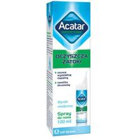 Spray Acatar Hipertonic spray do nosa 100ml