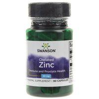 Swanson Cynk Zinc (Chelat) 30 mg - 90 kapsułek