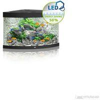 Juwel  trigon 190 led akwarium narożne o pojemności 190l z wyposażeniem/ czarny