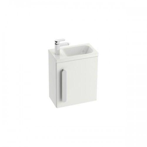 Ravak korpus szafki(bez drzwiczek) pod umywalkę sd chrome 400 biały połysk x000000538