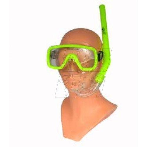 Zestaw do nurkowania Leta Junior maska + rurka żółty