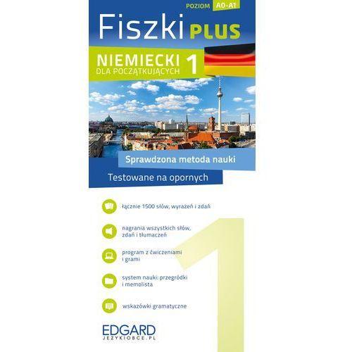 Fiszki Plus. Niemiecki dla początkujących 1, oprawa kartonowa