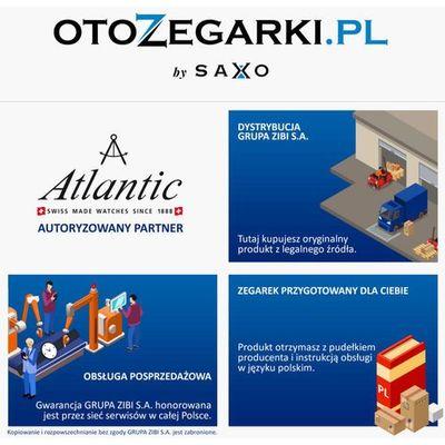 Zegarki męskie Atlantic HappyTime.com.pl