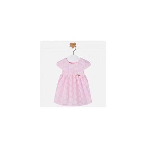 48203040 1853 Sukienka w grochy, 1853 ss17 newborn różowa (Mayoral)
