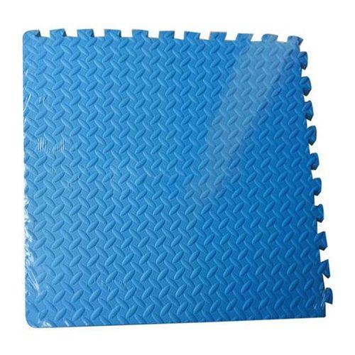 Mata do ćwiczeń AXER FIT Puzzle Niebieski