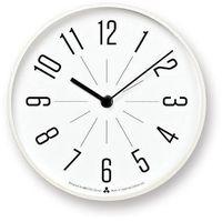 Zegar Awa Jiji biała tarcza biała oprawa (4260278081651)