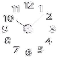 Zegar ścienny Sticker chrom quartz by JVD, HB12