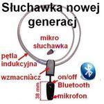 Bezprzewodowa Mikro-Słuchawka (zestaw egzaminacyjny) + Pętla Indukcyjna Bluetooth (cały świat!)., 5900308620001