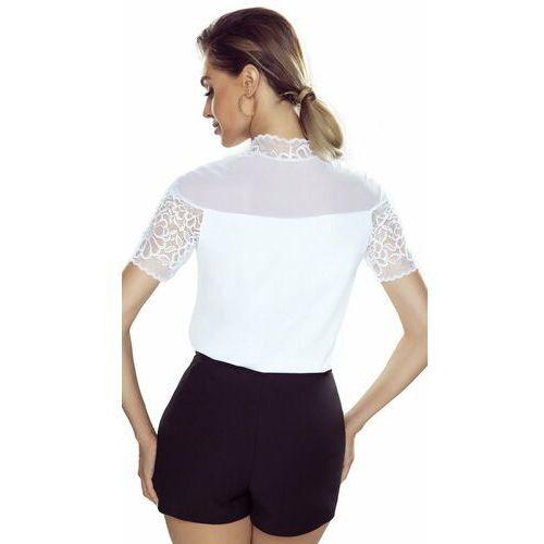 Eldar Melania bluzka damska romantica top biała