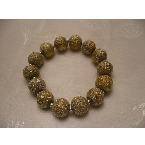 B-00014 Bransoletka na rękę z pereł nakrapianych, 24-02-13