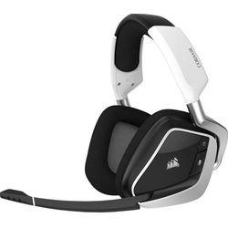 Corsair słuchawki gamingowe Void RGB Elite Wireless, białe (CA-9011202-EU)