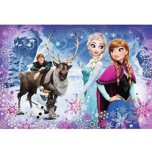 Puzzle Frozen/Ledové království Zimní dobrodružství 41x27,5cm 160 dílků v krabici 29x19x4cm, GXP-601969