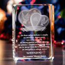 Podziękowania dla rodziców »Serca 3D« z Twoją dedykacją • GRAWER 3D  Podziękowania dla rodziców