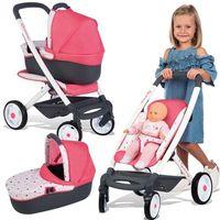 Smoby wózek wielofunkcyjny dla lalki Maxi Cosi, 7600253198